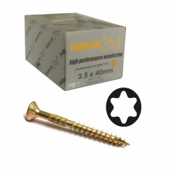 TIMco C2 Decking Screw 4.5 x 75mm Box 250 GREEN TX20 CSK 75C2D250BX