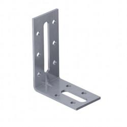 1 Bit 500x Chipboard Wood Screws 25x Angle Brackets Corner Brace 90x90mm
