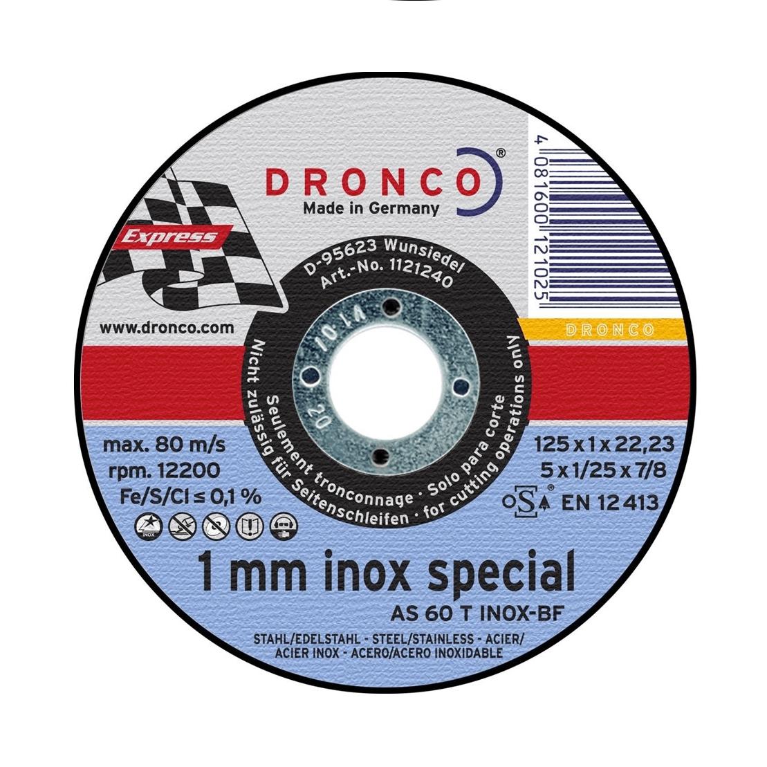 Slitting & Inox Discs