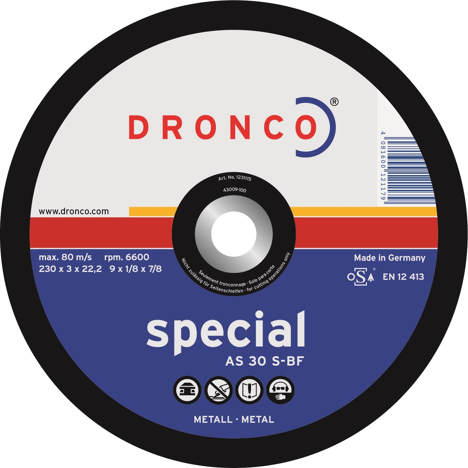 Chop Saw Discs