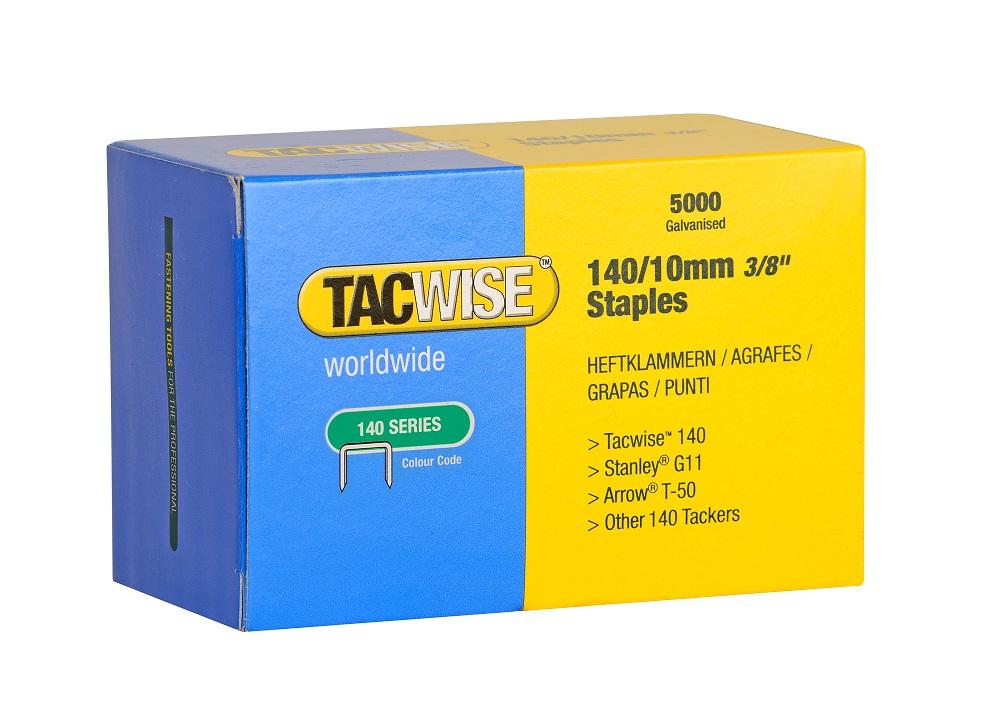 Tacwise Galvanised Staples 140 Series - 10mm