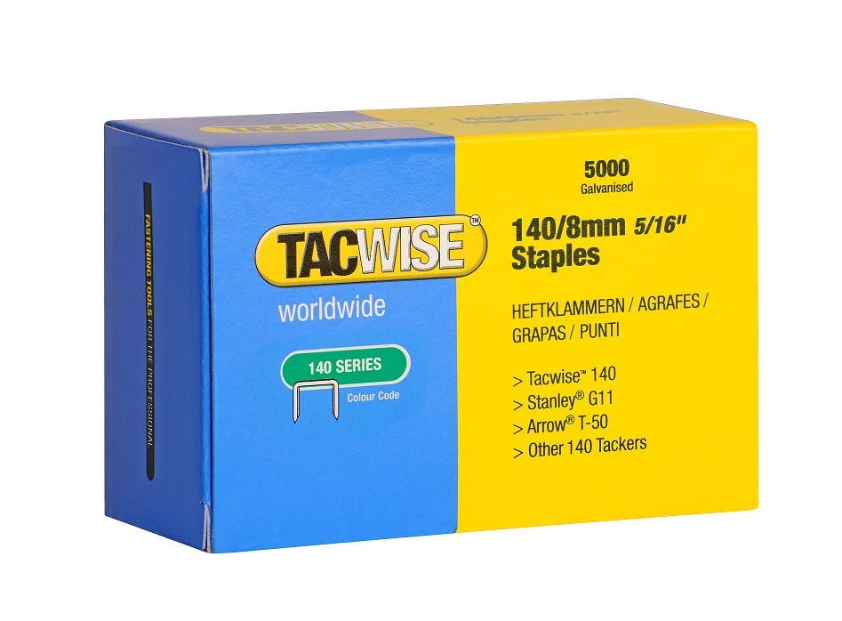 Tacwise Staples 140 Series 8mm Gt Buy Low Trade Prices