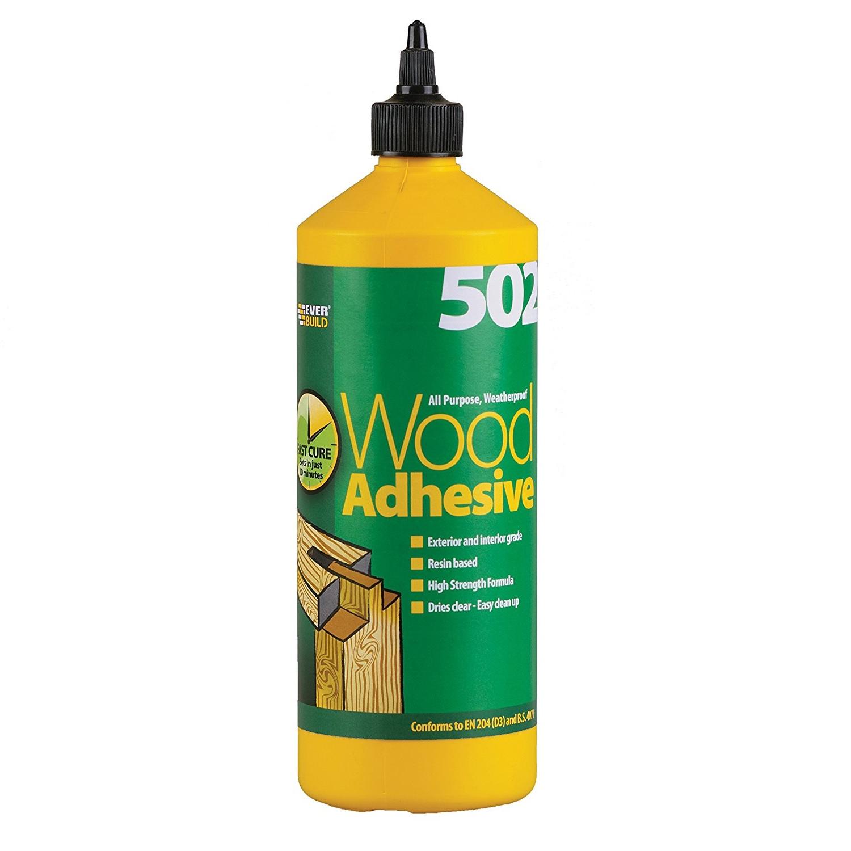 Everbuild 502 Wood Glue 1 Ltr Tradefix Direct