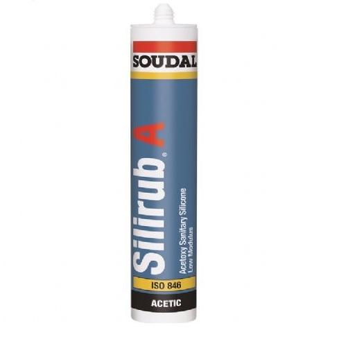 Soudal Silirub A Silicone - White