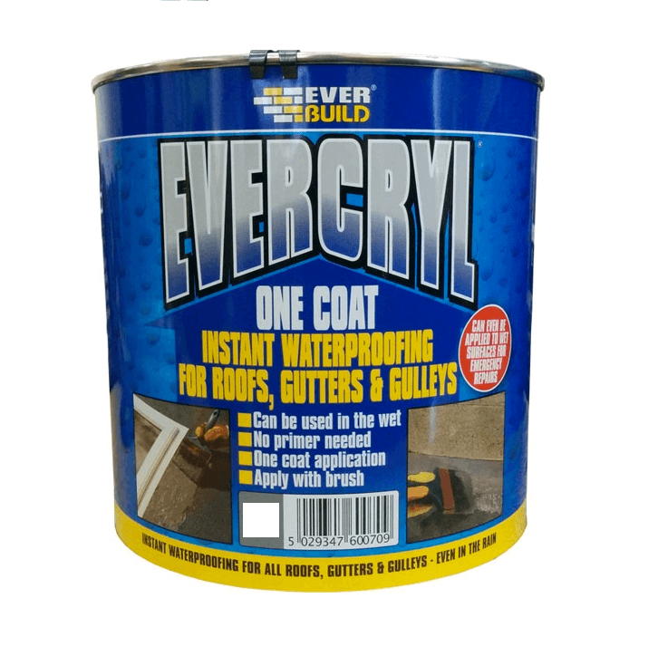 Evercryl Emergency Roof Repair Grey- 5kg