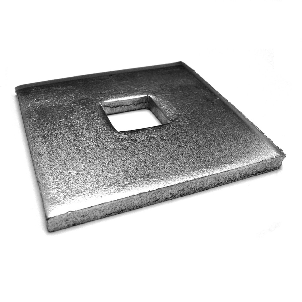 Square Hole Square Plate Washers - M20 x 100 x 10mm