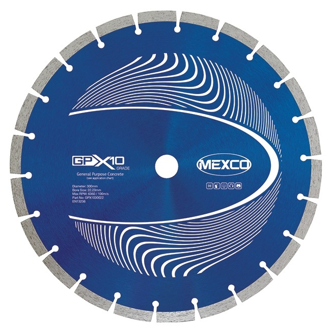 Mexco GPX10 Diamond Blade - 125mm
