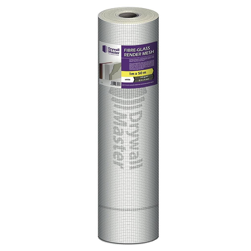 Drywall Master Fibreglass Rendering Mesh