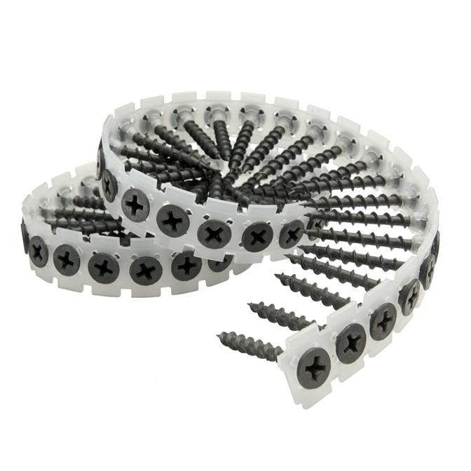 Senco Duraspin Collated Drywall Screws - 25mm