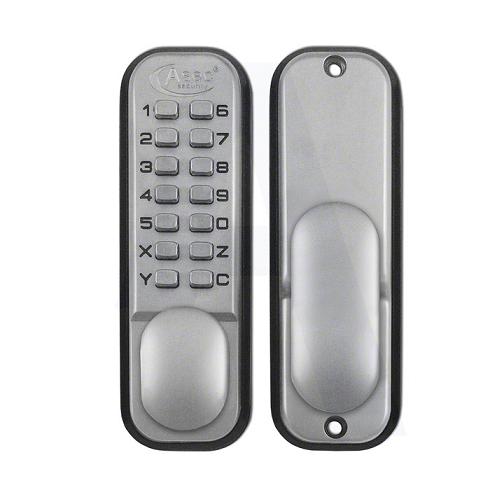 ASEC AS2300 Digital Door Lock - Satin Chrome