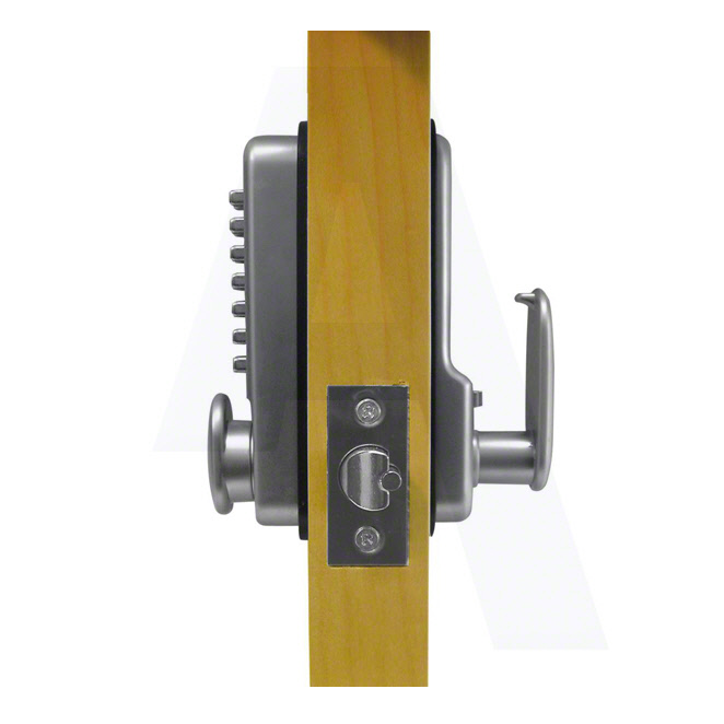 ASEC AS2300 Digital Door Lock - Satin Chrome