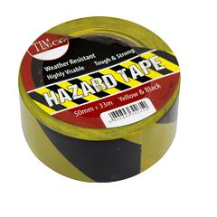 Hazard Tape - Yellow and Black