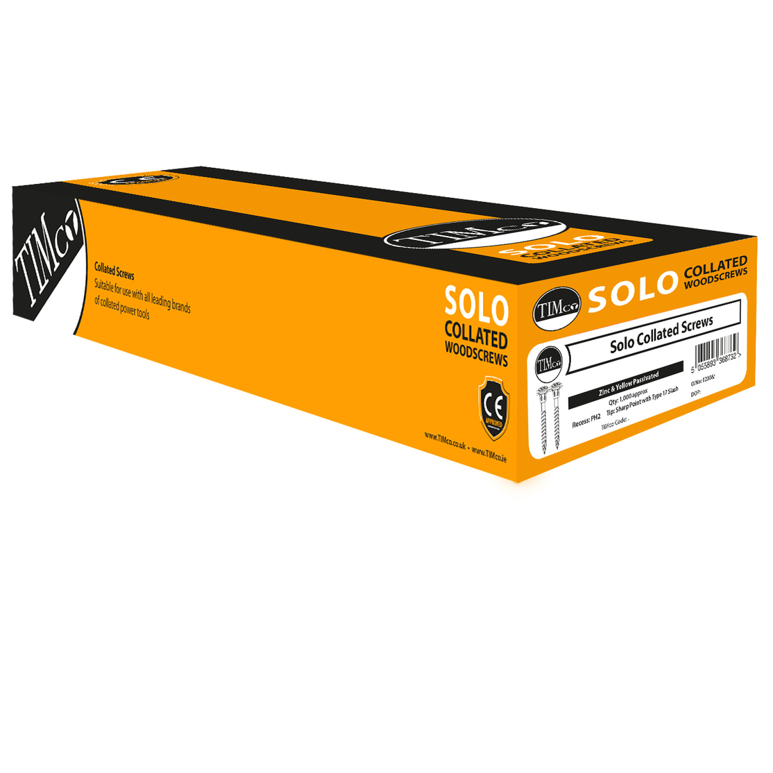 Timco Collated Solo Screws - 4.2 x 50mm