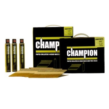 Champion Nails - 63 x 2.8mm Galvanised Annular Ring