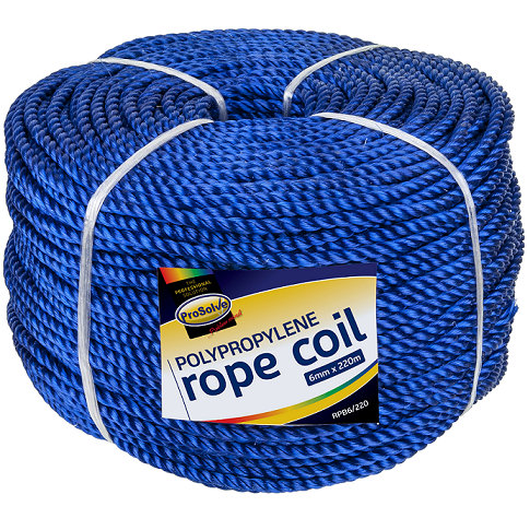 Polypropylene Rope - 6mm x 220mtrs