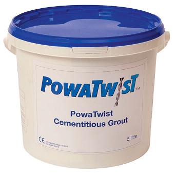 PowaTwist Cement Grout 3 Litre