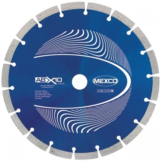 Mexco ABX10 Diamond Blade - 230mm