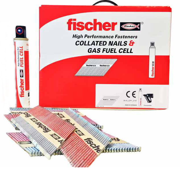 Fischer Nails - 75 x 3.1mm HD Galvanised Annular Ring