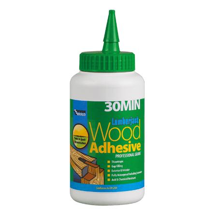 Lumberjack Polyurethane Wood Glue 30 Minute - 750g