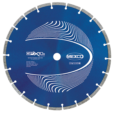 Mexco GPX10-8 Diamond Blade - 300mm