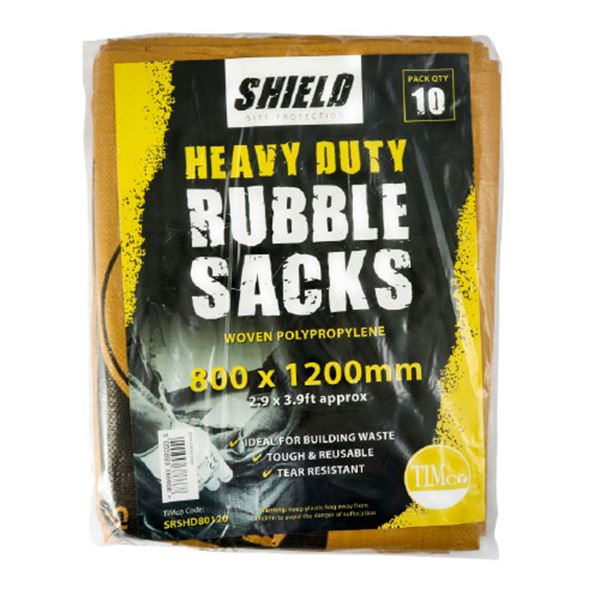 Shield Heavy Duty Rubble Sacks