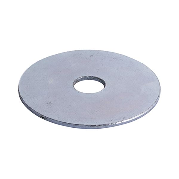 BZP Penny/Repair Washers - M6 x 25mm (Box of 100)