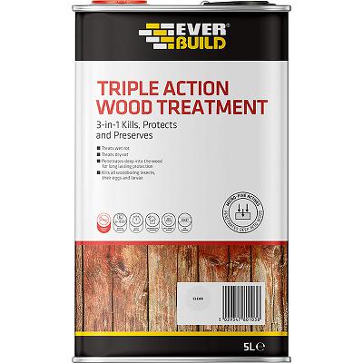 Everbuild Triple Action Wood Treatment 5ltr